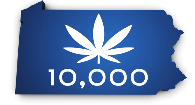 10,000 Patients in Pennsylvania Approved for Medical Marijuana