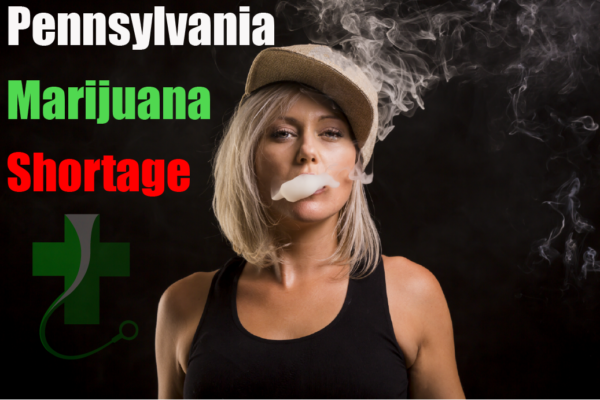 Pennsylvania Marijuana Shortage, woman, female, vaping, tanktop