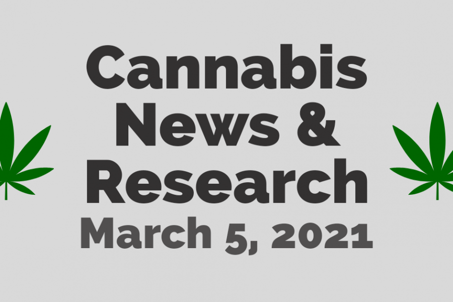 Cannabis News and Research