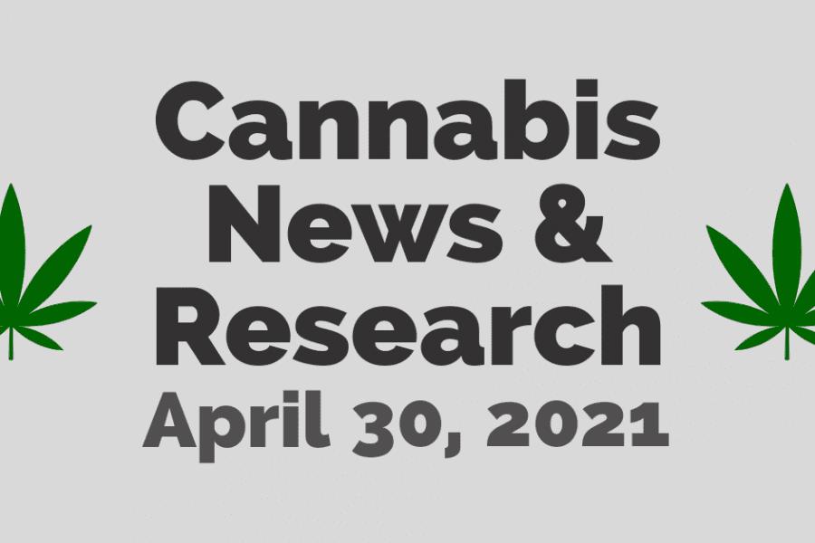 Cannabis News & Research